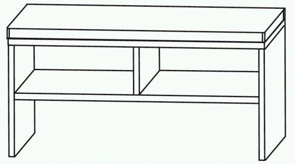 Puris Cool Line Sitzbank 90 cm SETBANK9