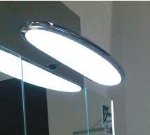 Pelipal Aufsatzleuchte für Flächen-/Spiegelschrank LS-AC-600F