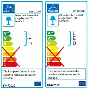 mit LED-Band WLED10RR/L