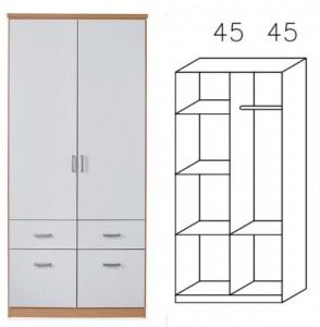 0R95 Kombischrank, Breite 91 cm