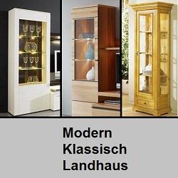 weitere wohnm bel vitrinen standelemente nach stil g nstig kaufen m bel universum. Black Bedroom Furniture Sets. Home Design Ideas