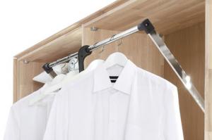 Kleiderlift für 2-türiges Schrankelement