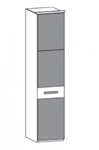 153 - 1 Color-Glastür links angeschlagen