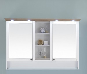 9030-SPS 09 Spiegelschrank mit LED-Kranzbodenbeleuchtung