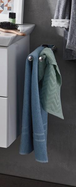 Puris Handtuchhalter PZ11372 - zweiarmig, Wandmontage