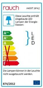 Passepartoutrahmen mit Beleuchtung - 207 cm