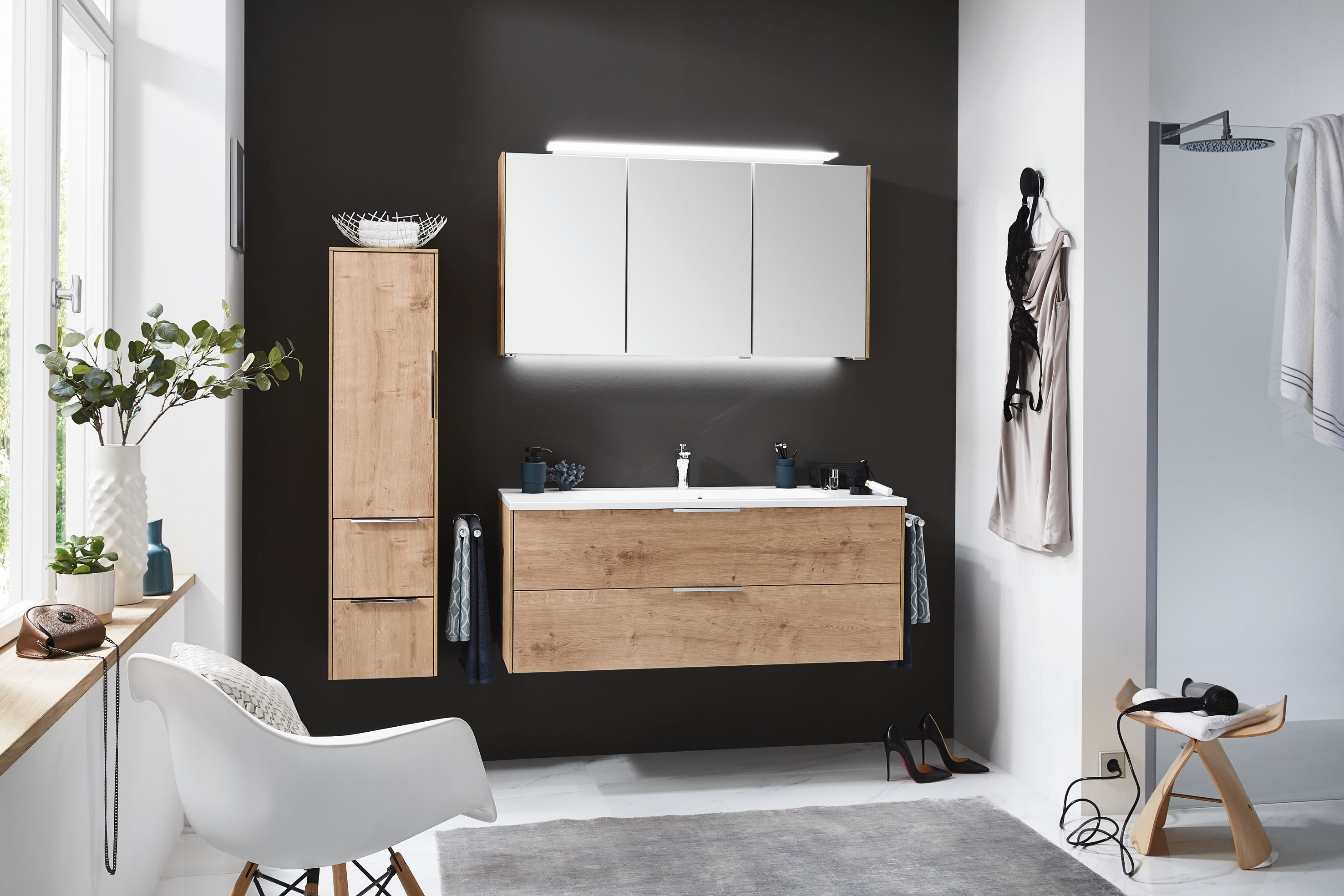 puris badm bel set 120 cm breit neuheit g nstig kaufen m bel universum. Black Bedroom Furniture Sets. Home Design Ideas