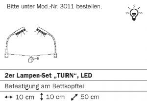 2er Lampen-Set