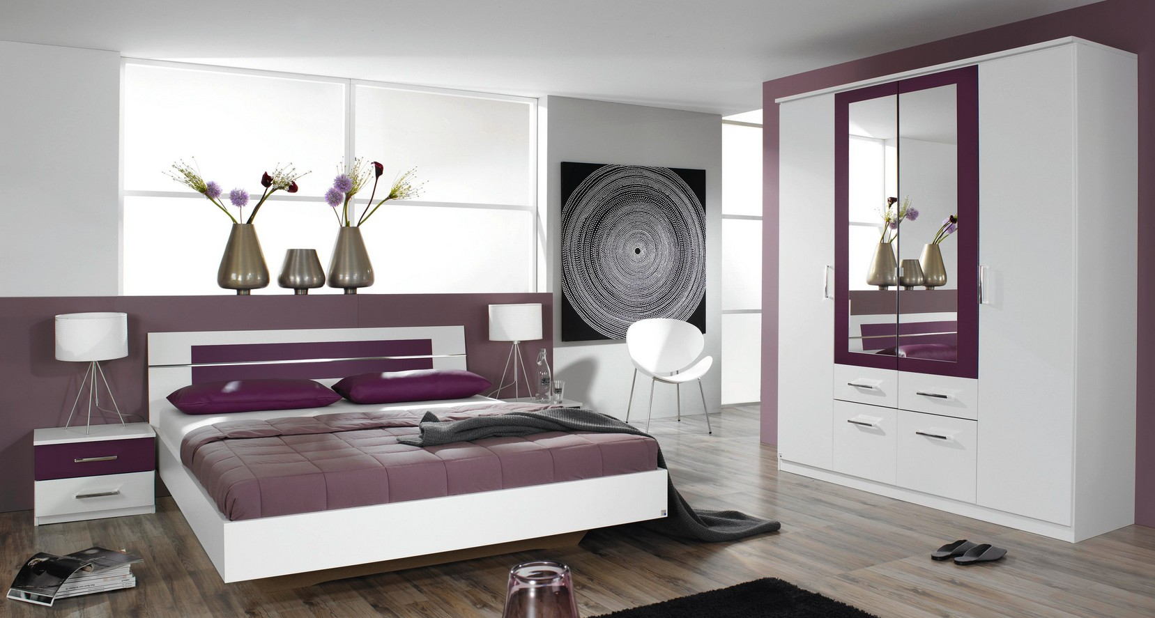 rauch packs burano schlafzimmer 4 teilig g nstig kaufen. Black Bedroom Furniture Sets. Home Design Ideas