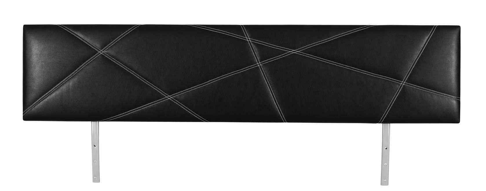 Rauch Select Gala - Kopfteil mit Polster X gesteppt/Lederoptik ...