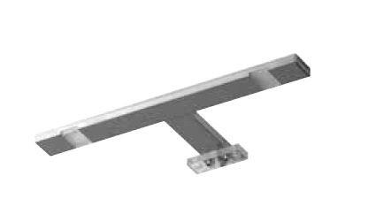 Pelipal Aufsatzleuchte für Flächenspiegel/Spiegelschrank - LS-A