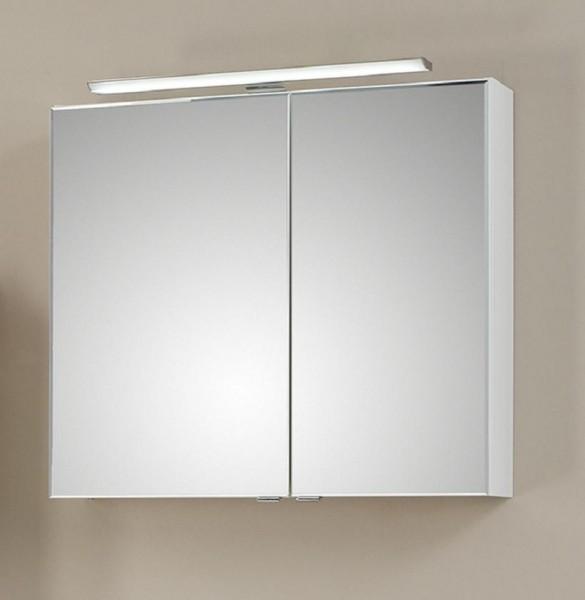 Pelipal Solitaire 6110 Spiegelschrank mit LEDplus-Aufsatzleuchte 80 cm 6110-SPS 10