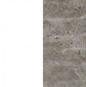 Front alpinweiß / Korpus Stone grey