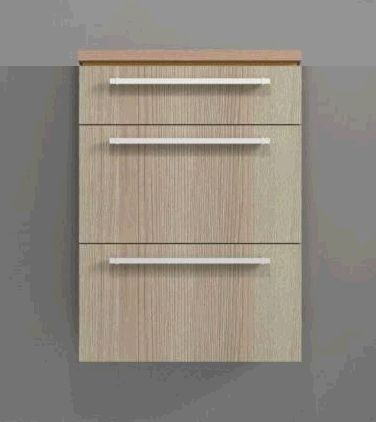Puris Cool Line Highboard 60 cm HBA566A5M in Eiche hell - Sonderpreis - Sofort lieferbar!!