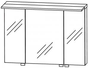 Spiegelschrank 90 cm S2A439078