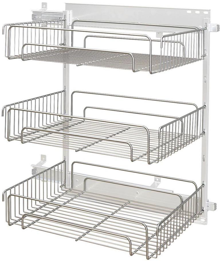 rauch select zubeh r sa sb sc 9az5 seitlicher auszug 3 metallk rbe g nstig kaufen m bel. Black Bedroom Furniture Sets. Home Design Ideas