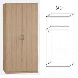 3730 Drehtürenschrank, Breite 91 cm