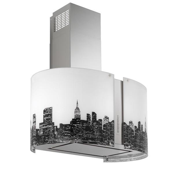 Falmec New York LED I 85, Mirabilia, Inselhaube
