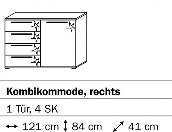 Rauch Steffen Merida Kombikommode B464