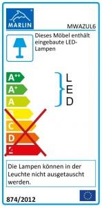 mit LED-Lichtleiste (60 cm)