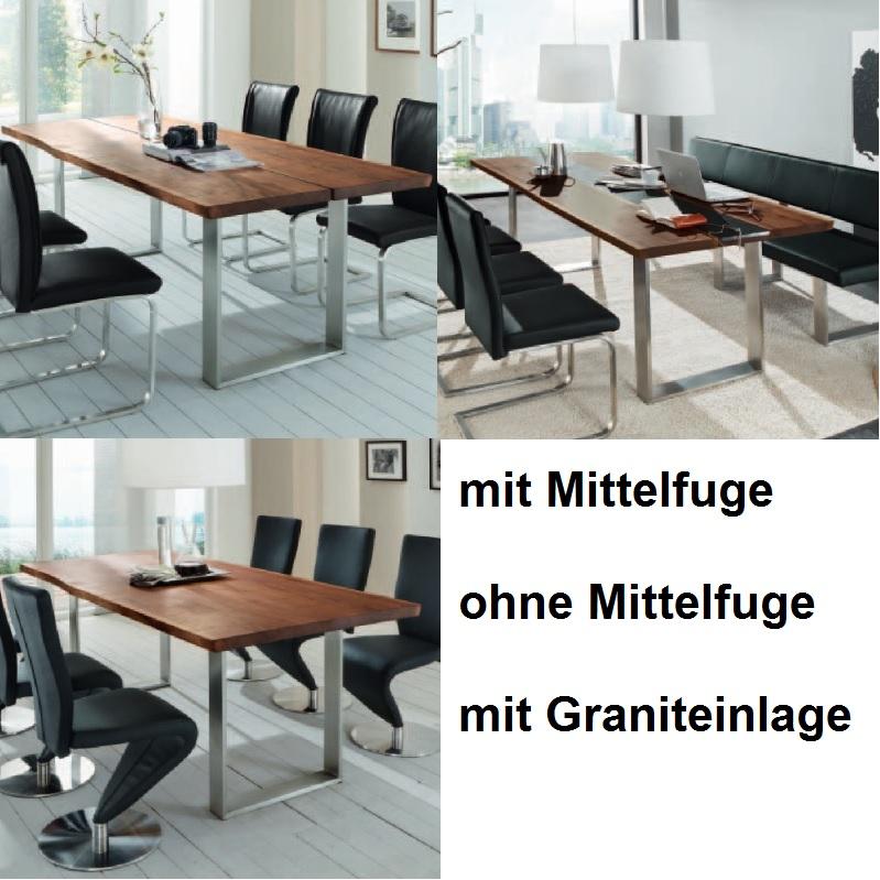 Baumtisch baumtisch nach kufengestell g nstig kaufen m bel universum - Baumtisch esszimmer ...