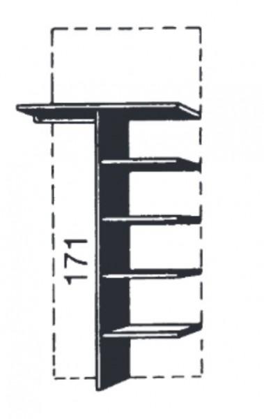 Loddenkemper Doppelfachunterteilung (Nachbildung) 0272/0275