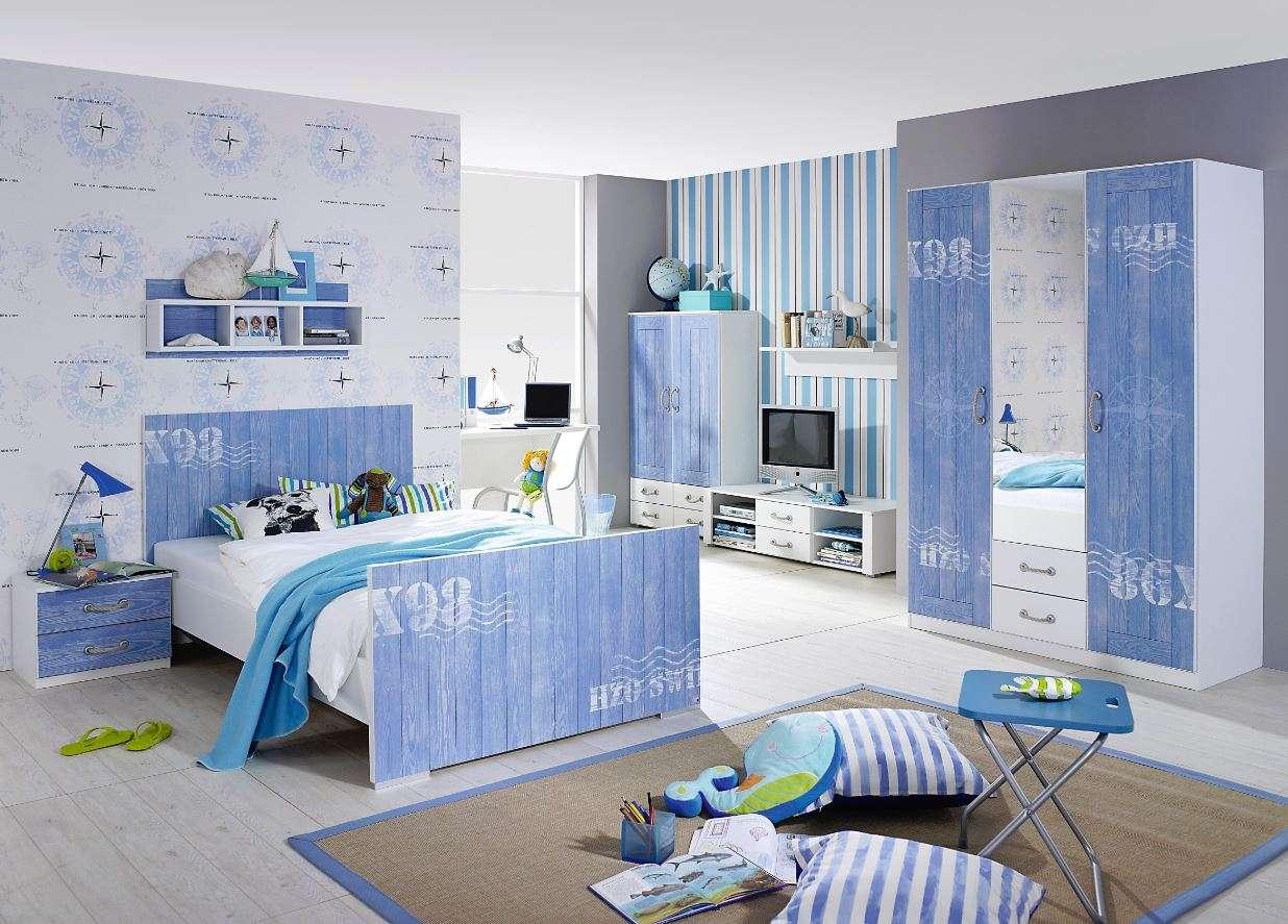 Badezimmermöbel Blau - Design
