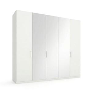 5825 Drehtürenschrank  mit 3 mittigen Spiegeltüren - Breite 250 cm