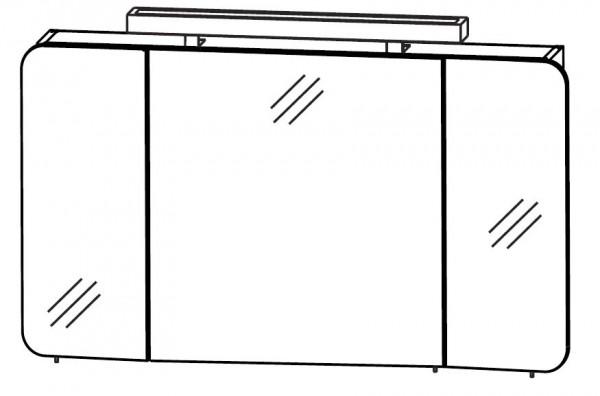 Puris Speed Spiegelschrank 100 cm S2A48103