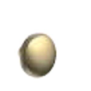 05 - Knopfgriff Bronziert - 1 Stück - Durchmesser 3cm