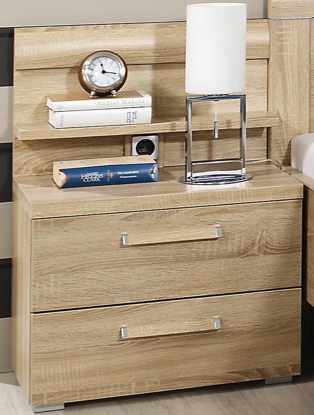 rauch dialog evelyn nachttischpaneel mit steckdose 6714 g nstig kaufen m bel universum. Black Bedroom Furniture Sets. Home Design Ideas