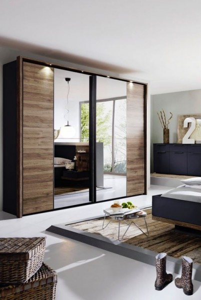 rauch steffen vadora schwebet renschrank mit spiegel sw04. Black Bedroom Furniture Sets. Home Design Ideas