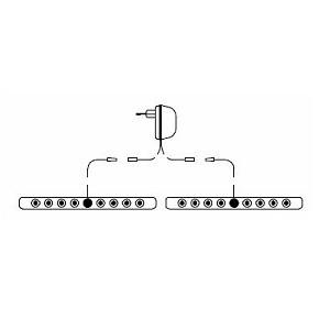 Indirekte Bettseitenbeleuchtung LED