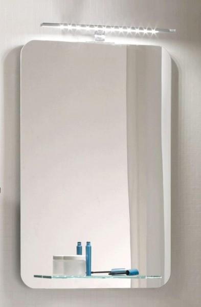 Pelipal Solitaire 6900 Flächenspiegel mit Glasablage 46 cm NT-SP 02