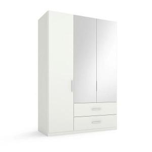 5S17 Kombischrank - 2 rechte Spiegeltüren - Breite 151 cm