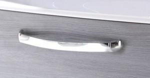 Griffvariante B -chrom glanz - breite Form