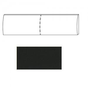 607Z Kopfteil Lederoptik schwarz