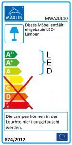 mit LED-Lichtleiste (100 cm)
