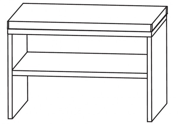 Puris Unique Sitzbank 60 cm SETBANK 6