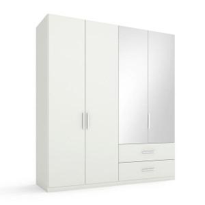 5S53 Kombischrank - 2 rechte Spiegeltüren - Breite 201 cm