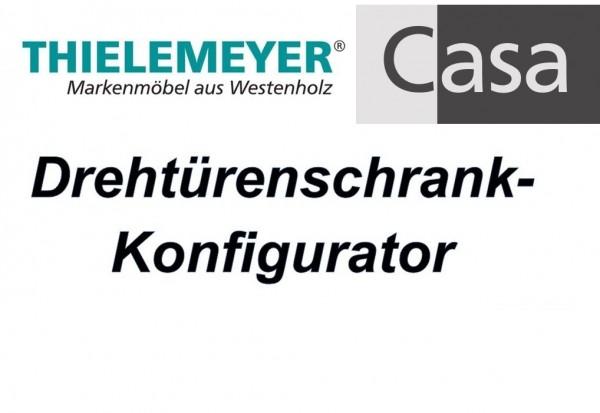Thielemeyer Casa Drehtürenschrank-Konfigurator