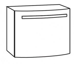 Waschtischunterschrank 60 cm WUAR61D