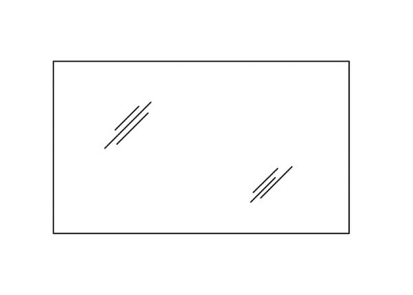 Pelipal 7005 Flächenspiegel 120 cm RD-SP 02