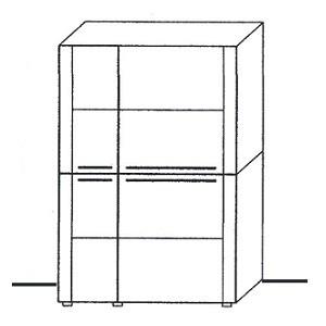 Z8-301ML - schmale Tür links