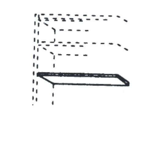 Thielemeyer Mira Einlegeboden für Schwebetürenschrank