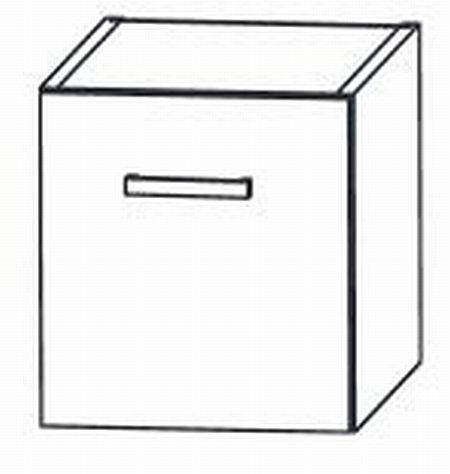 Puris Variado Waschtischplatten-Unterschrank 30 cm UTA27301 Weiß - Sonderpreis - Sofort lieferbar