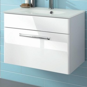 Waschtischunterschrank, 1 Auszug, 1 Blende