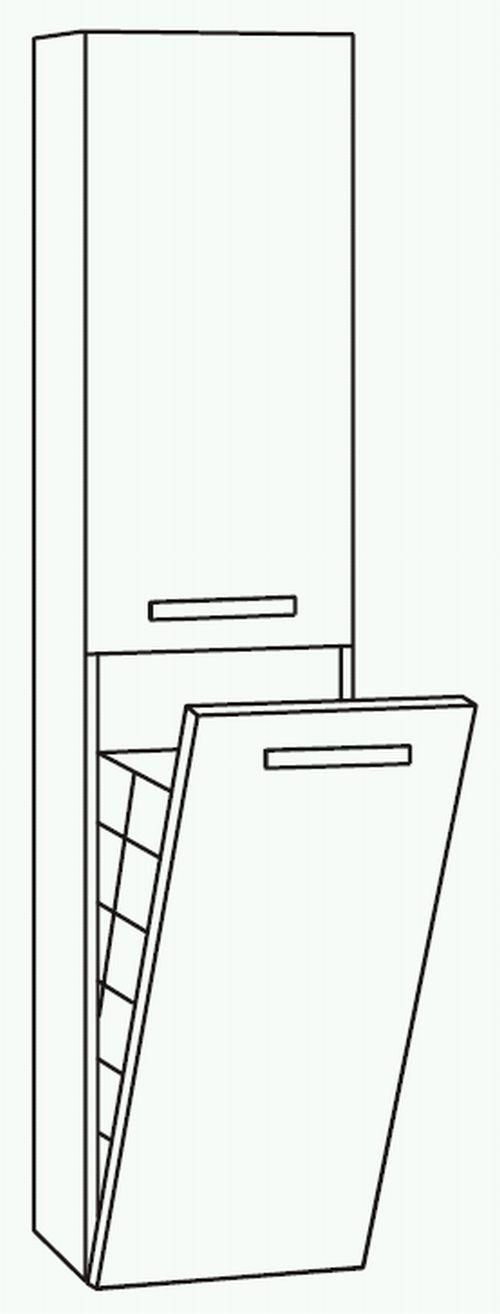 marlin bad 3090 cosmo hochschrank mit w schekippe 40 cm. Black Bedroom Furniture Sets. Home Design Ideas