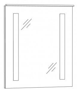 Spiegelpaneel 60 cm SPFLS6