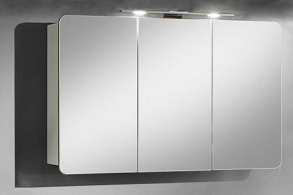 Marlin Aqua Spiegelschrank 90 cm ASR90 Kastanie Graphit - Sonderpreis - sofort lieferbar